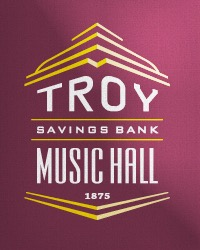 poster for Troy Savings Bank Music Hall Gift Card